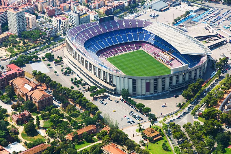 Camp Nou, Barcelona, Španělsko
