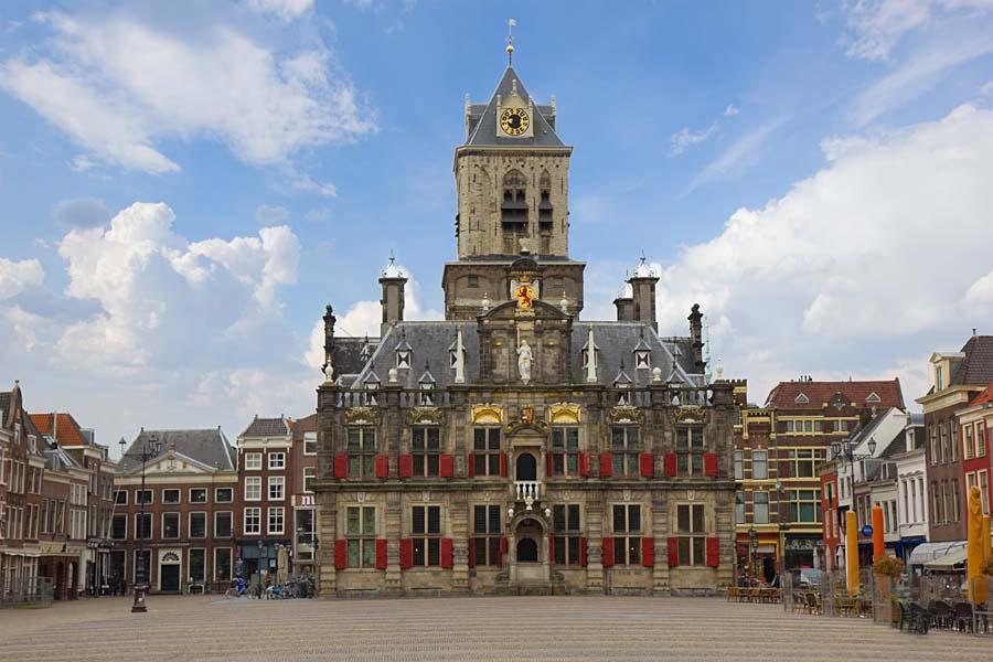 Town Hall, Delft, Nizozemsko