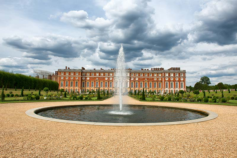 Hampton Court Palace, Londýn, Anglie