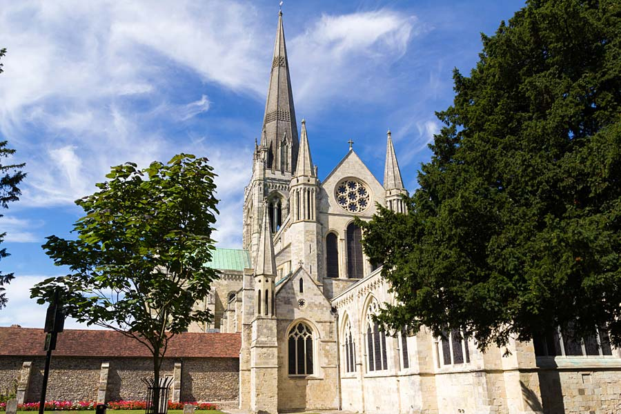 Chichester Cathedral, Chichester, Anglie