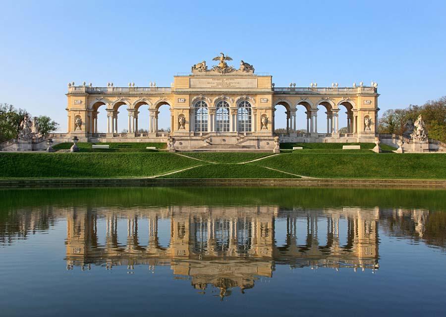 Schönbrunn Gloriette, Vídeň, Rakousko