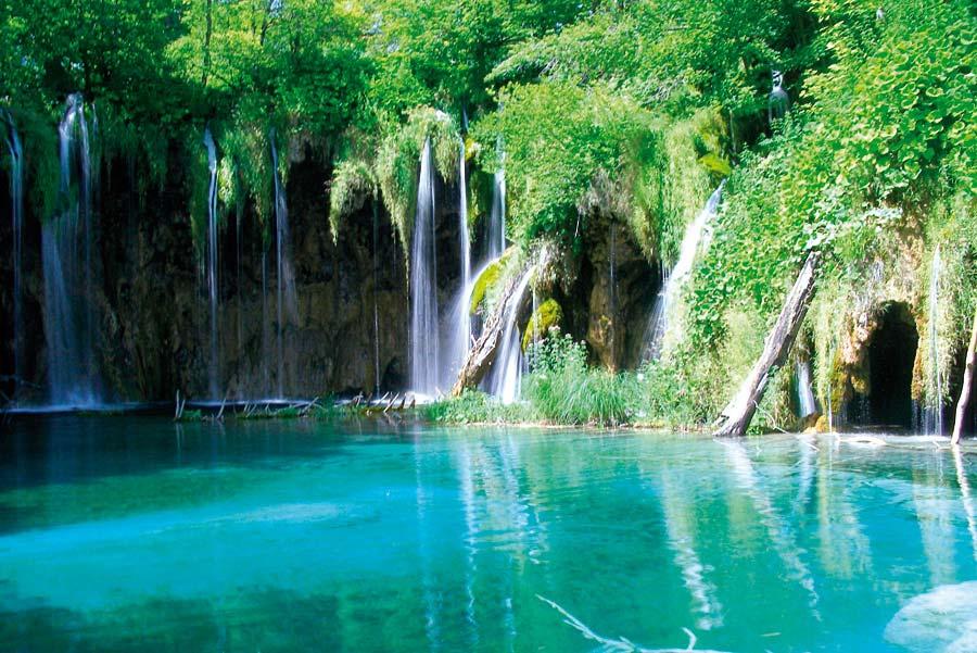 Národní park, Plitvice, Chorvatsko