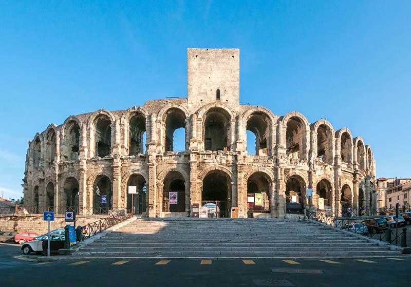 amfiteatr, Arles, Francie
