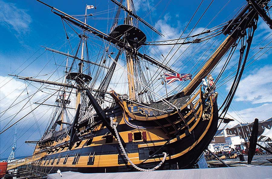 HMS Victory, Portsmouth, Anglie
