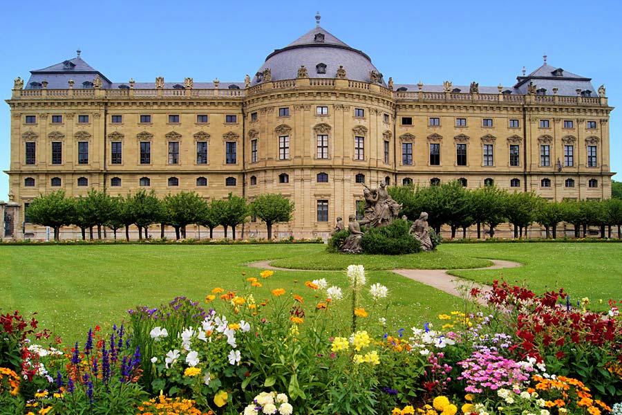 Residenz Würzburg, Německo
