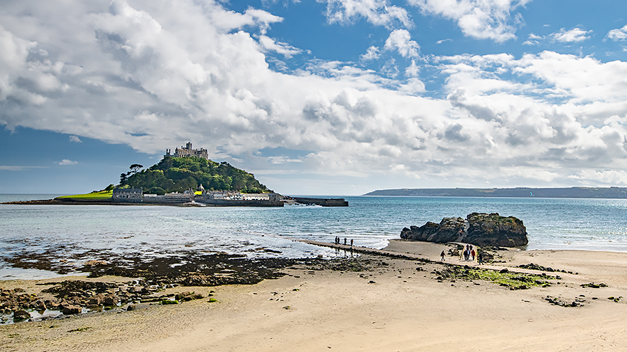 Anglie Cornwall St Michaels Mount R.jpg