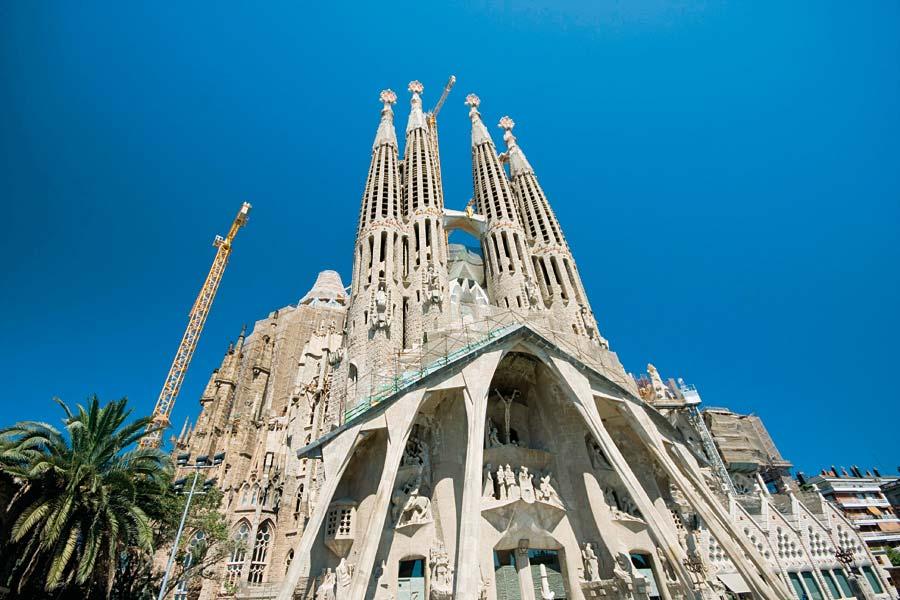 Sagrada Família, Barcelona, Španělsko