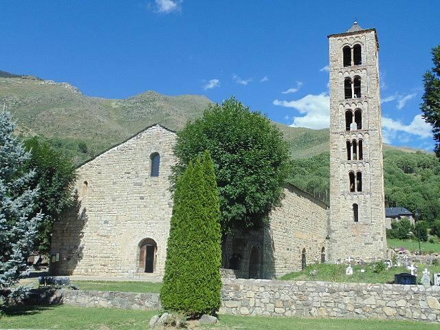 Sant Climent de Taüll, Val de Boí, Španělsko
