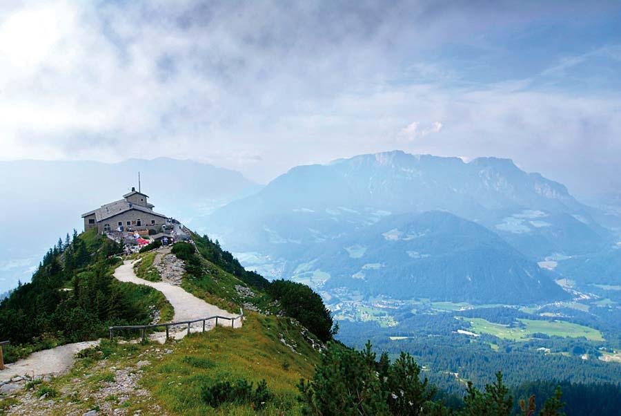 Kehlsteinhaus (Orlí hnízdo), Berchtesgaden, Německo