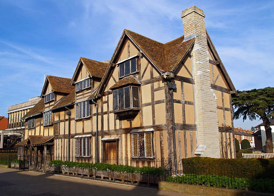 Shakespeare´s House, Stratford-upon-Avon, Anglie