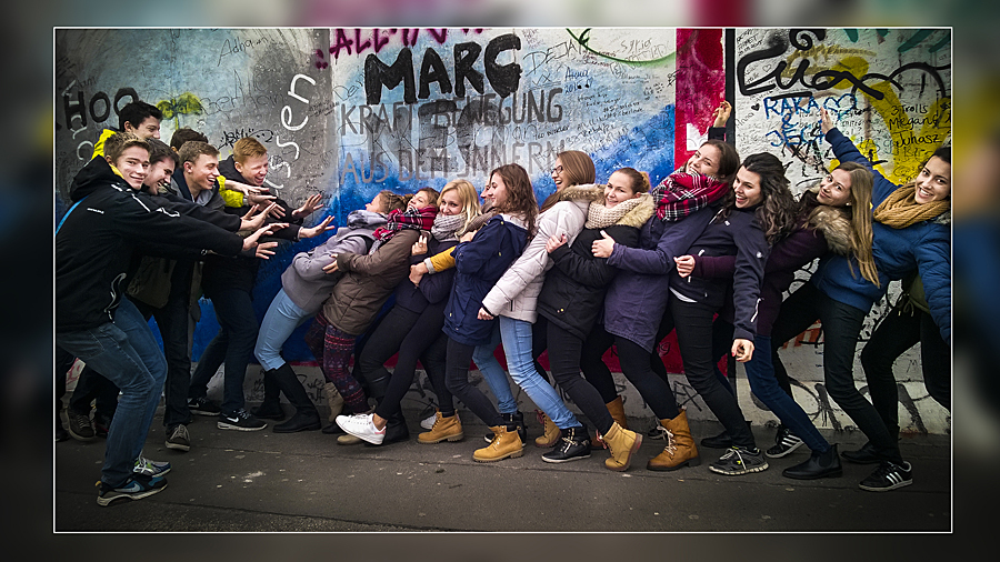 15 G Lercha Brno - Berlín, pád Berlínské zdi