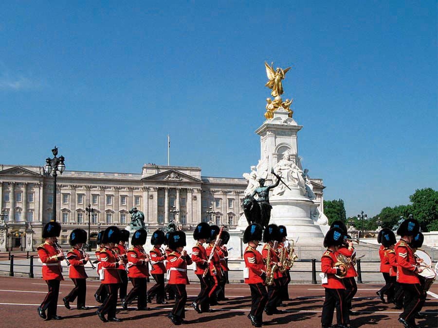 Buckingham Palace, Londýn, Anglie