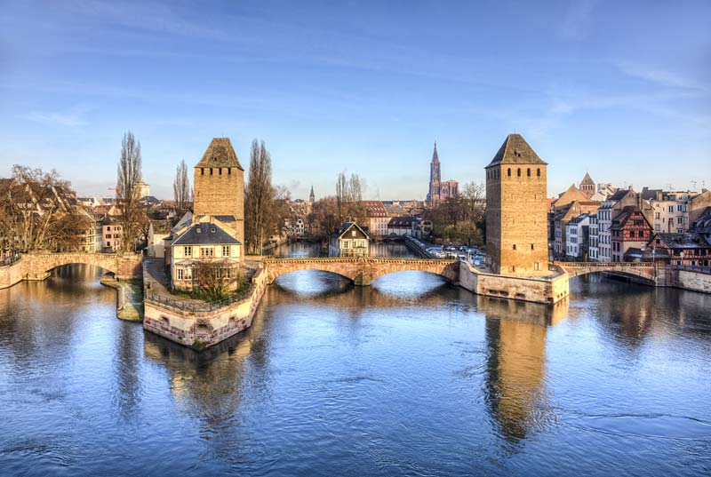 Ponts Couverts, Strasbourg, Francie