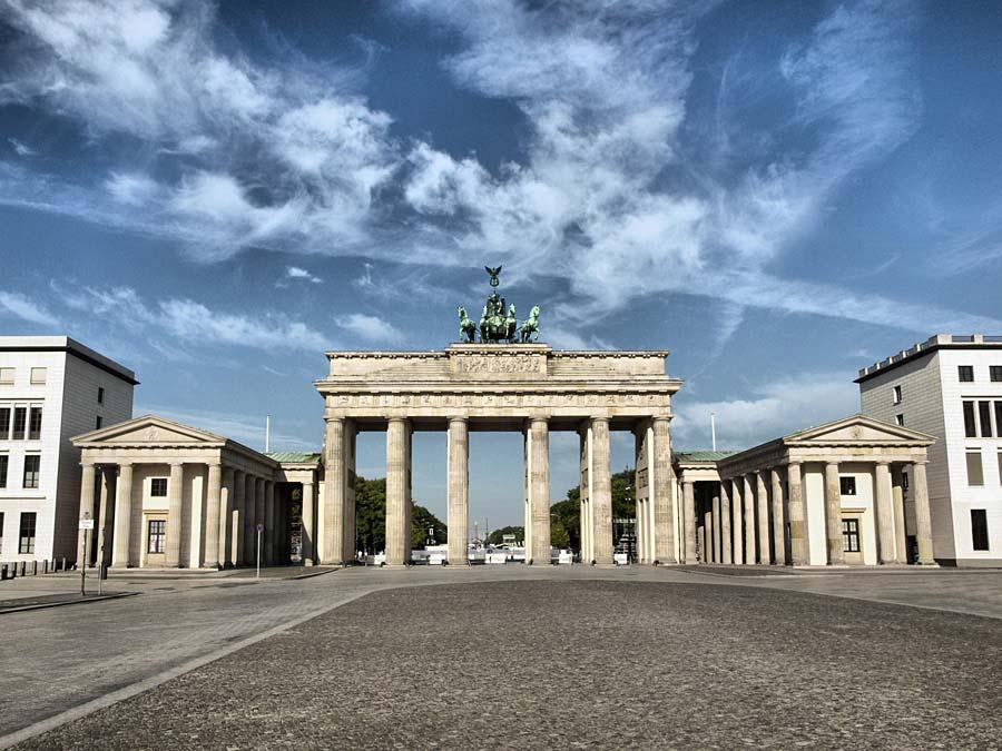 Brandenburger Tor, Berlín, Německo