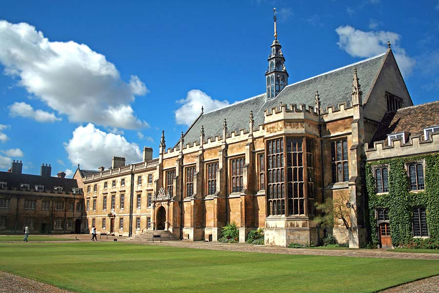 Trinity College, Cambridge, Anglie