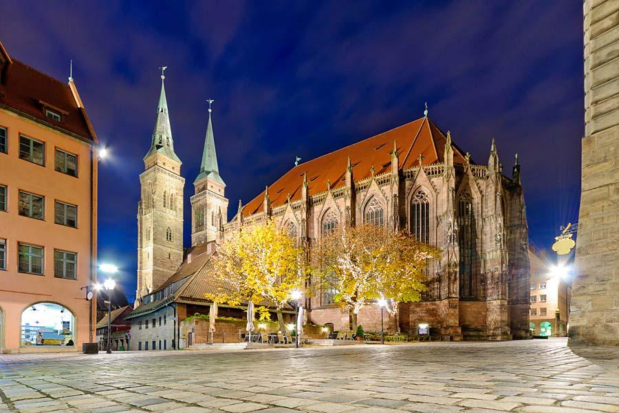 Lorenzkirche, Norimberk, Německo