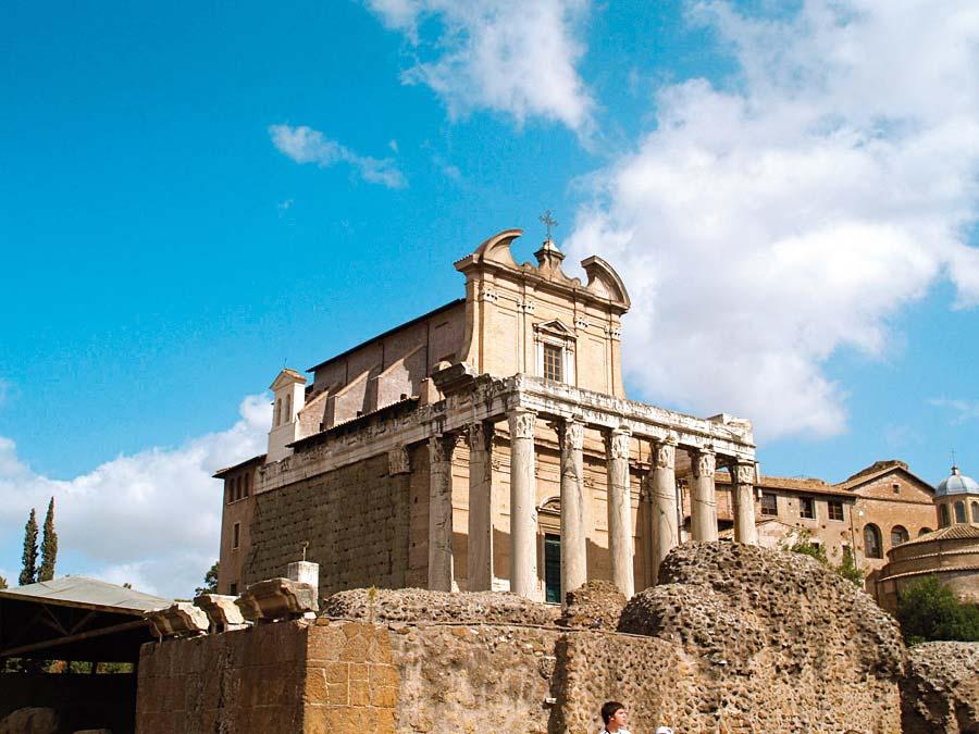 Forum Romanum, Řím, Itálie