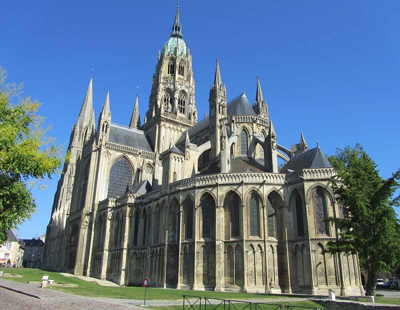 Notre Dame, Bayeux, Francie
