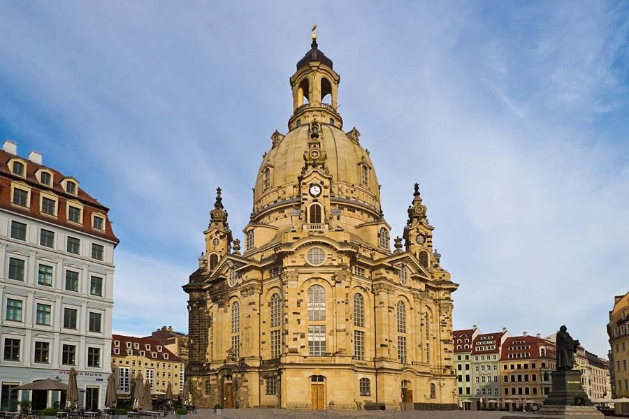 Frauenkirche, Drážďany, Německo