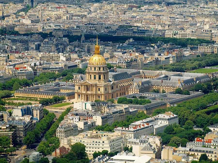 Invalidovna, Paříž, Francie