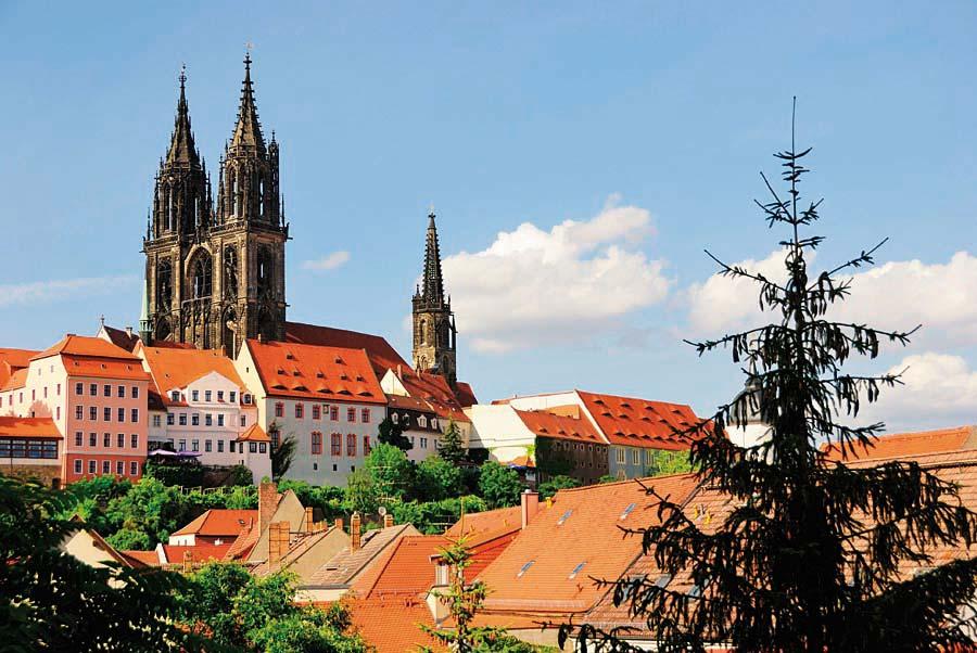 Albrechtsburg, Míšeň, Německo