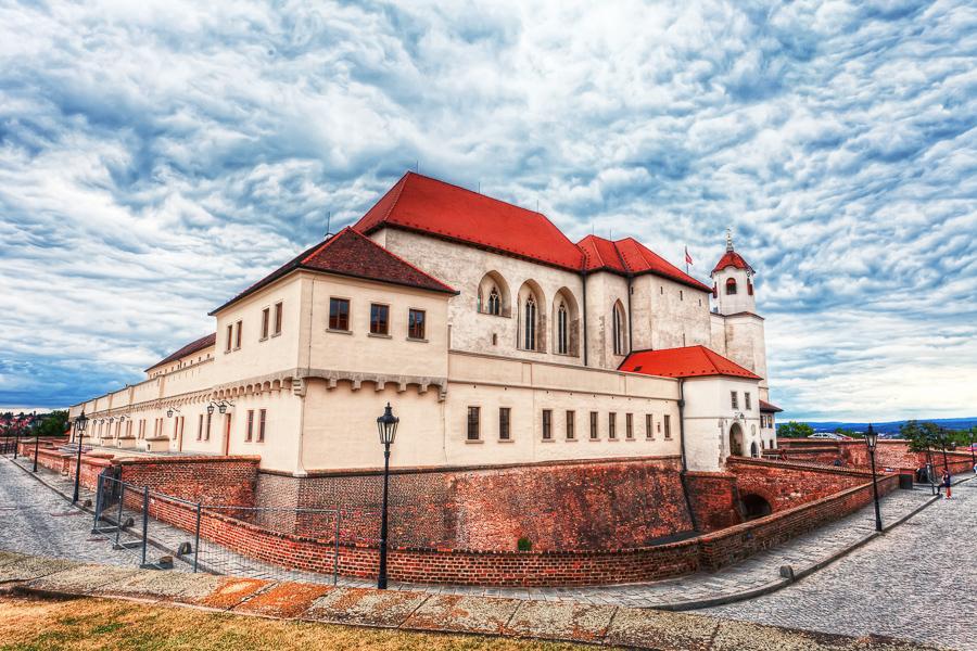 Ceska republika Brno, castle Spilberk