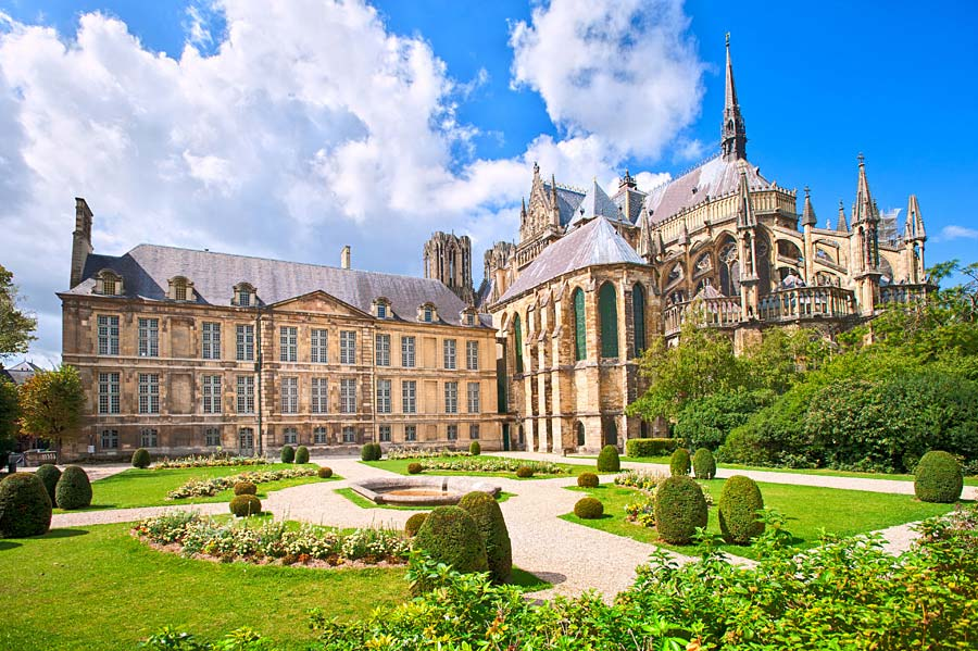 Cathedrale Notre Dame, Reims, Francie