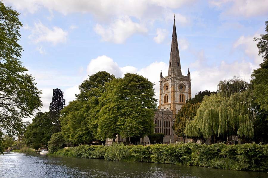 Holy Trinity Church, Stratford-upon-Avon, Anglie