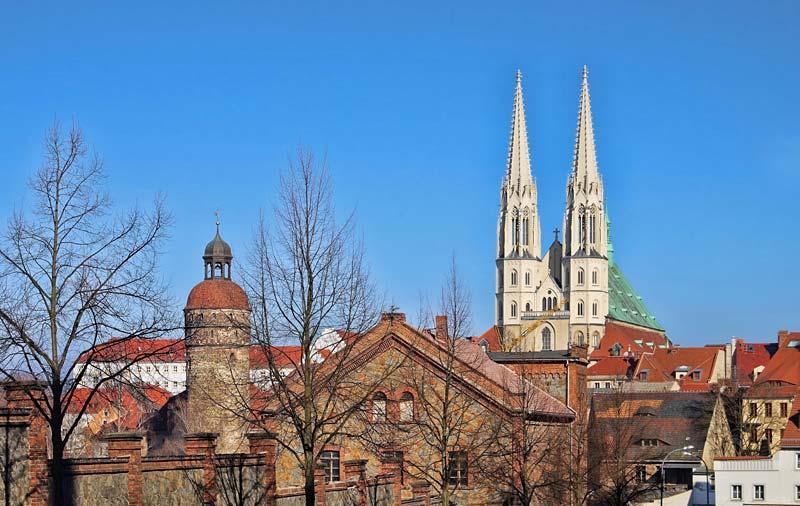 Peterkirche, Gorlitz, Německo