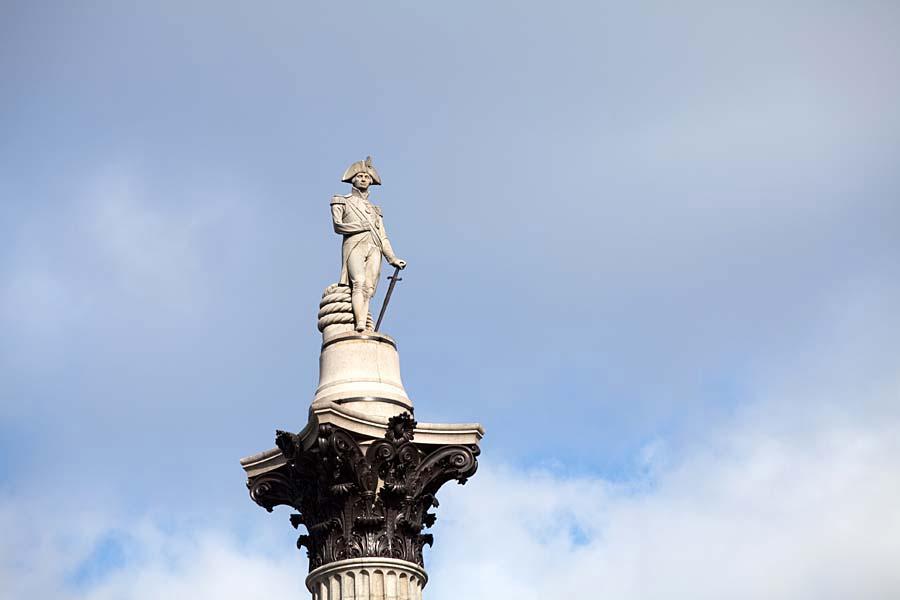 Nelson´s Column, Londýn, Anglie