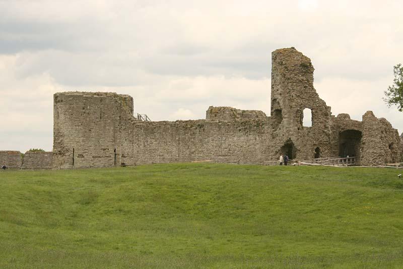 Pevensey Castle, Anglie