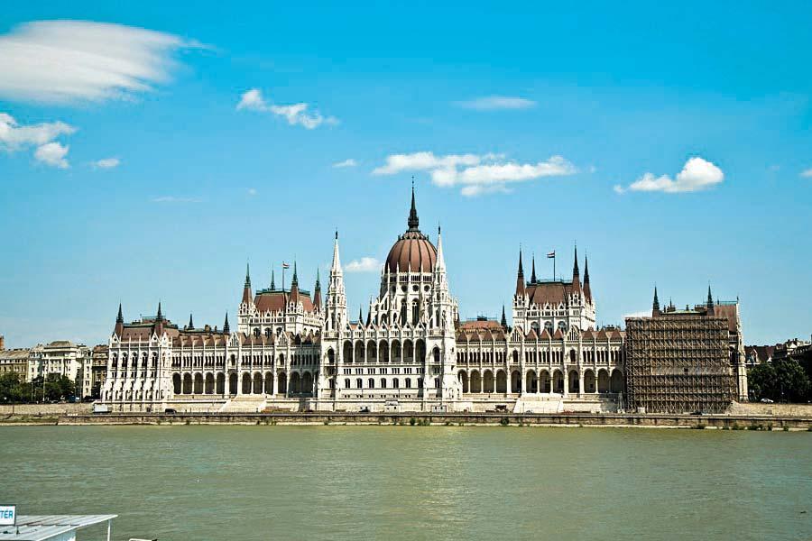 Maďarský parlament, Budapešť, Maďarsko