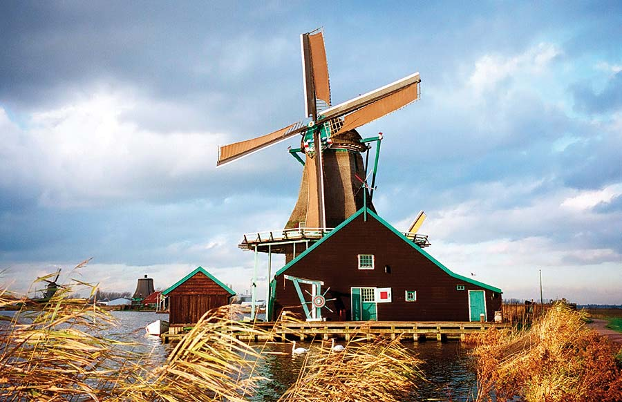 Zaanse Schanse, Nizozemsko