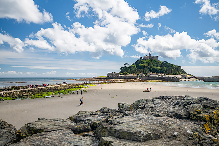Anglie Cornwall, St Michaels Mount