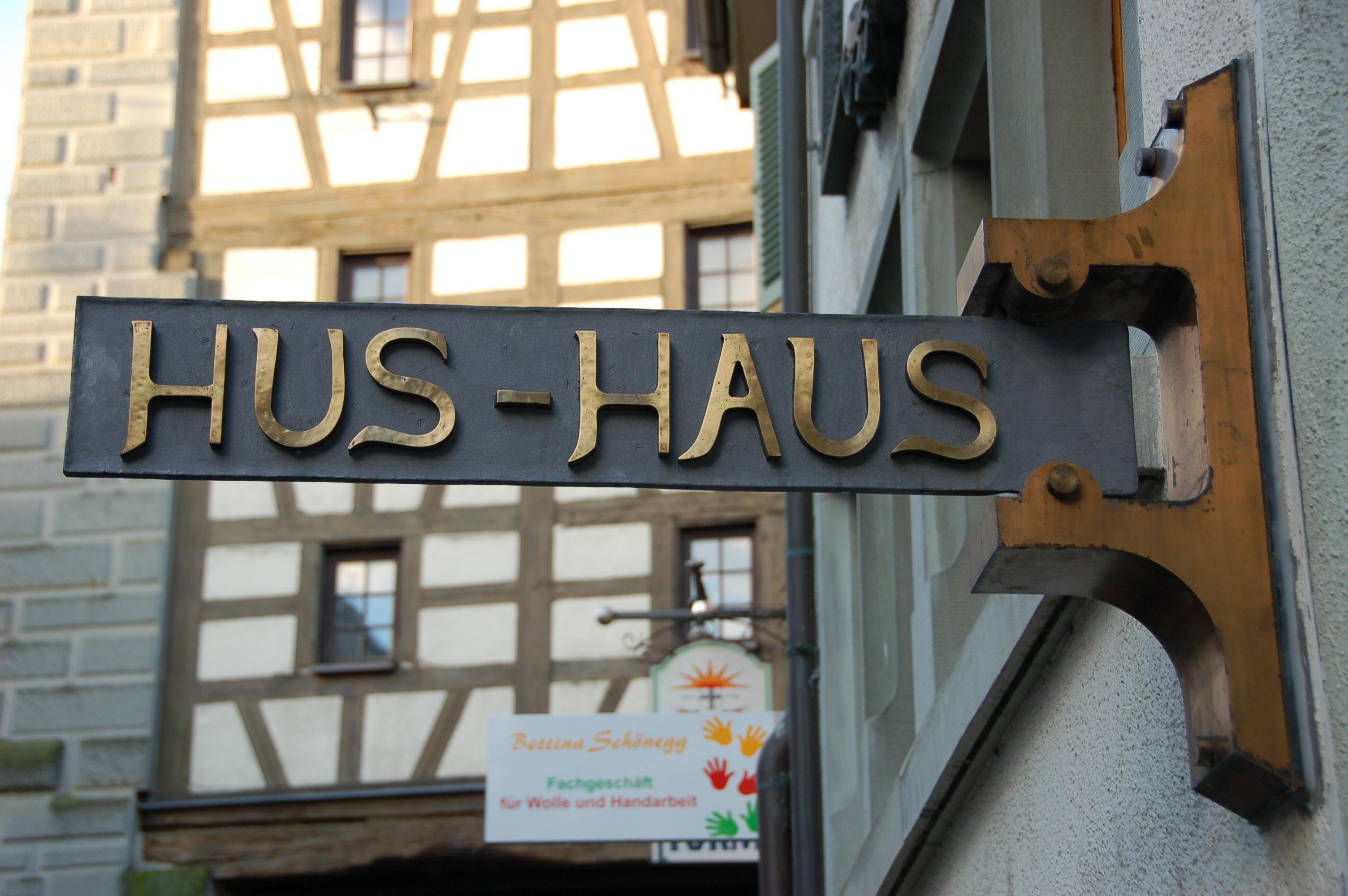 Německo Konstanz, Husův dům
