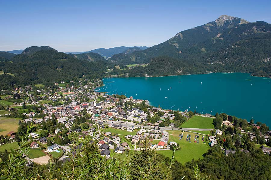 Sankt Gilgen a Wolfgangsee, Rakousko