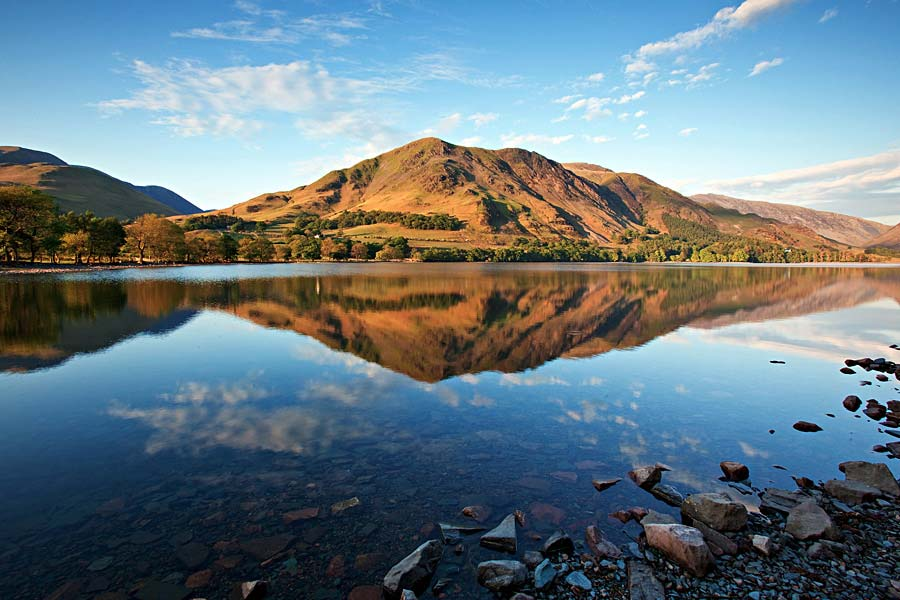 Lake Buttermere, Lake District, Anglie