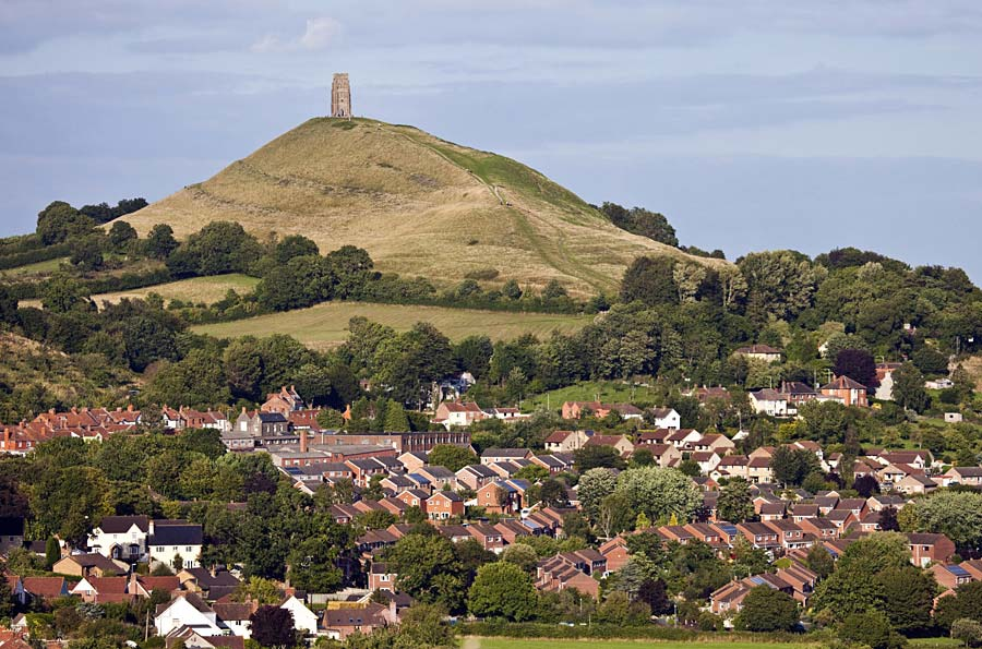 Glastonbury Tor, Glastonbury, Anglie