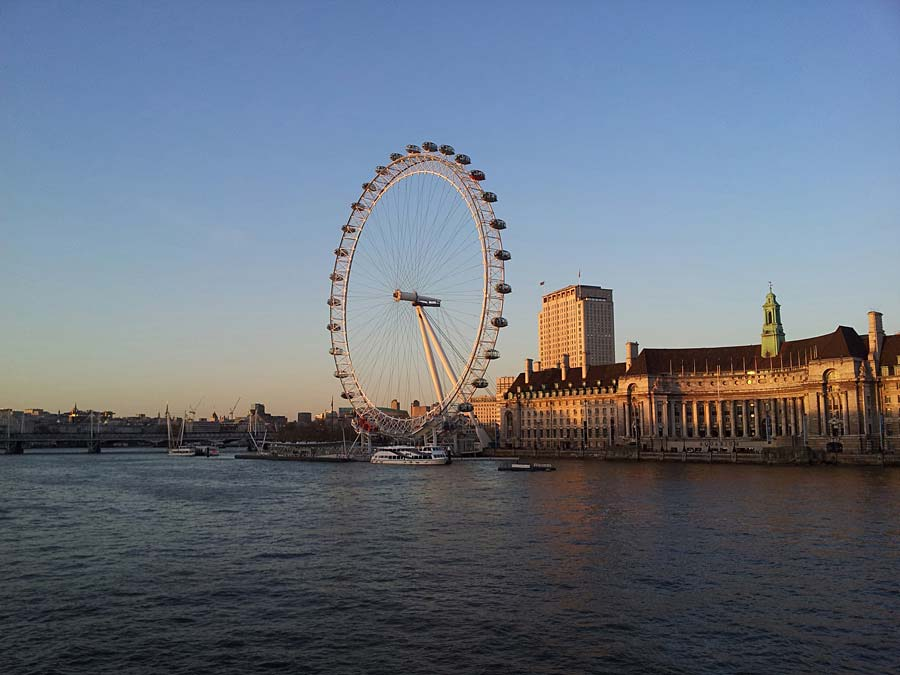 London Eye, Londýn, Anglie