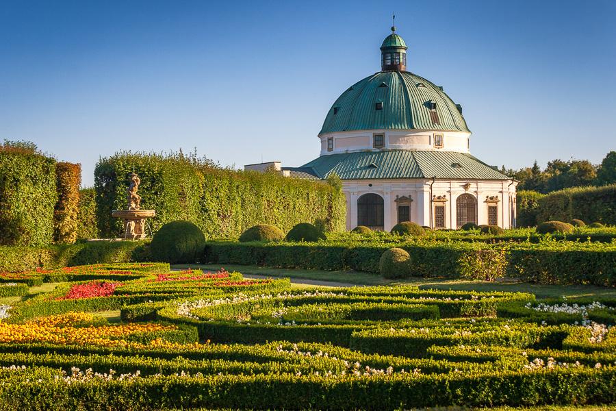 Ceska republika Kromeriz, Flower garden
