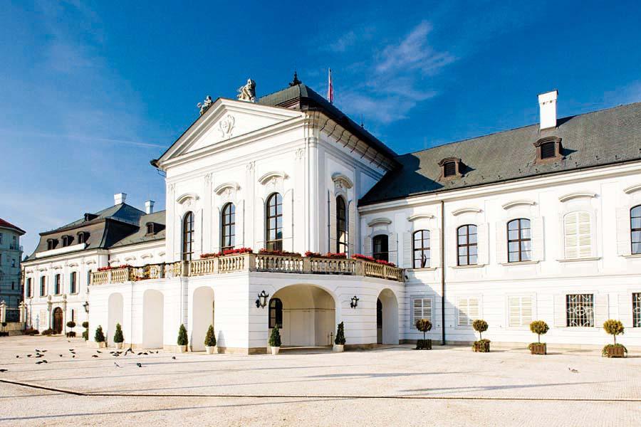 Prezidentský palác,  Bratislava, Slovensko