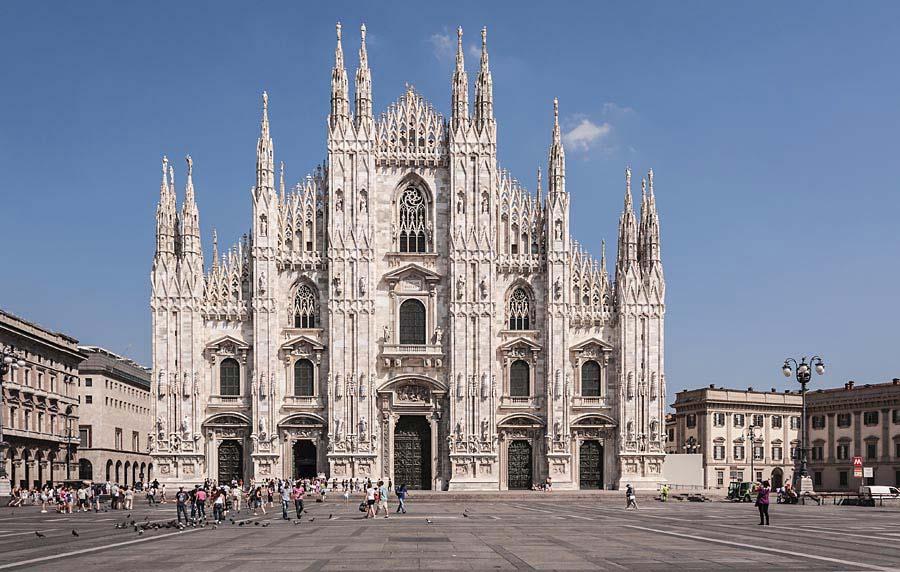Duomo di Milano, Miláno, Itálie