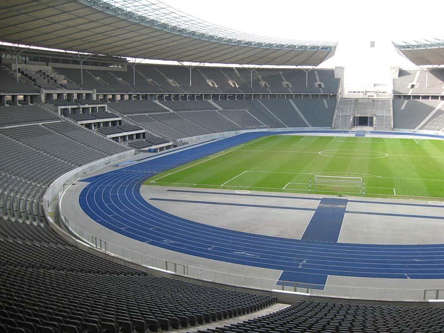 Olympiastadion, Berlín, Německo