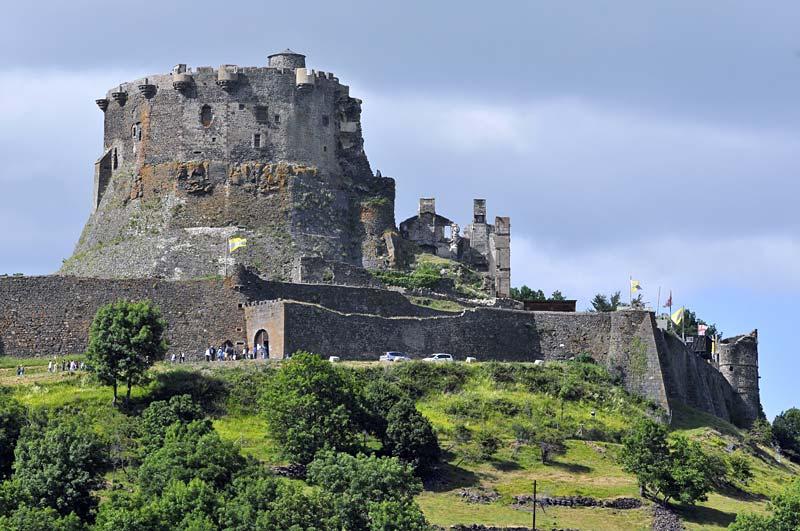 hrad Murol, Auvergne, Francie