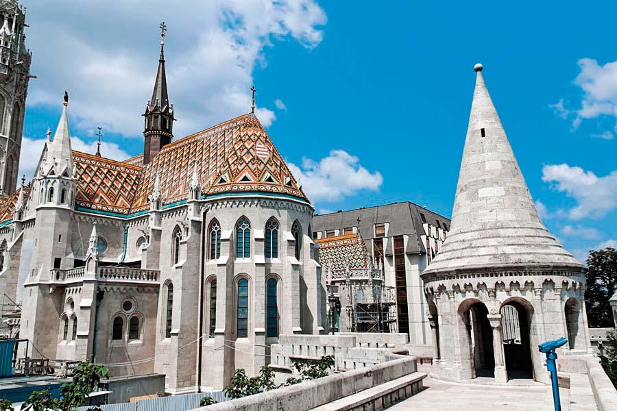 Kostel sv. Matyáše, Budapešť, Maďarsko