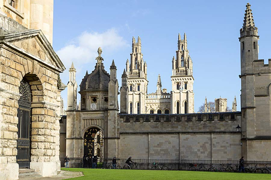 All Souls College, Oxford, Anglie