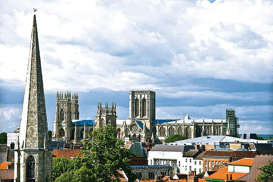 York, Anglie