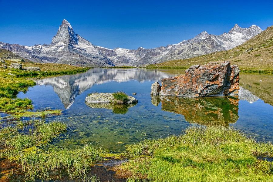 Švýcarsko Zermatt, Riffelsee