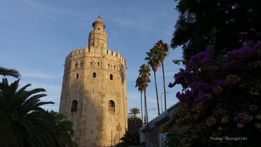 Španělsko, Sevila, Torre del Oro