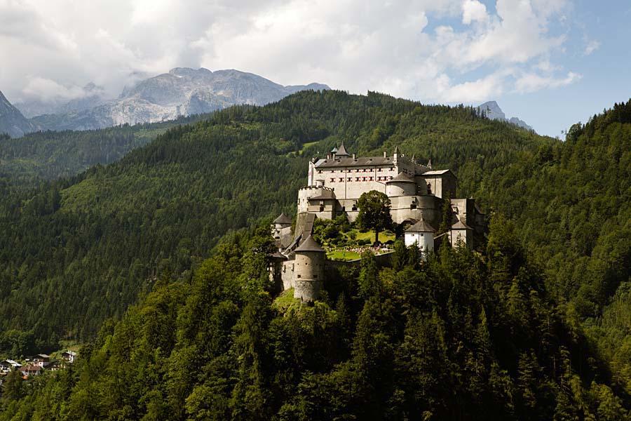 hrad Hohenwerfen, Rakousko